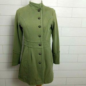 Matilda Jane Ida Coat Jacket Green Joanna Gaines
